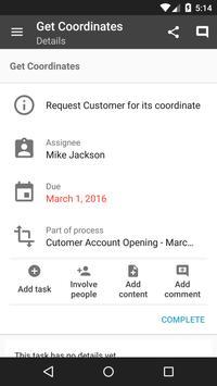 Alfresco Process Services apk screenshot