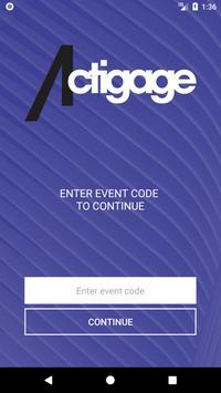 Actigage Events apk screenshot