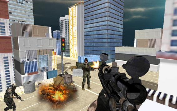 Real sniper city war 3D apk screenshot