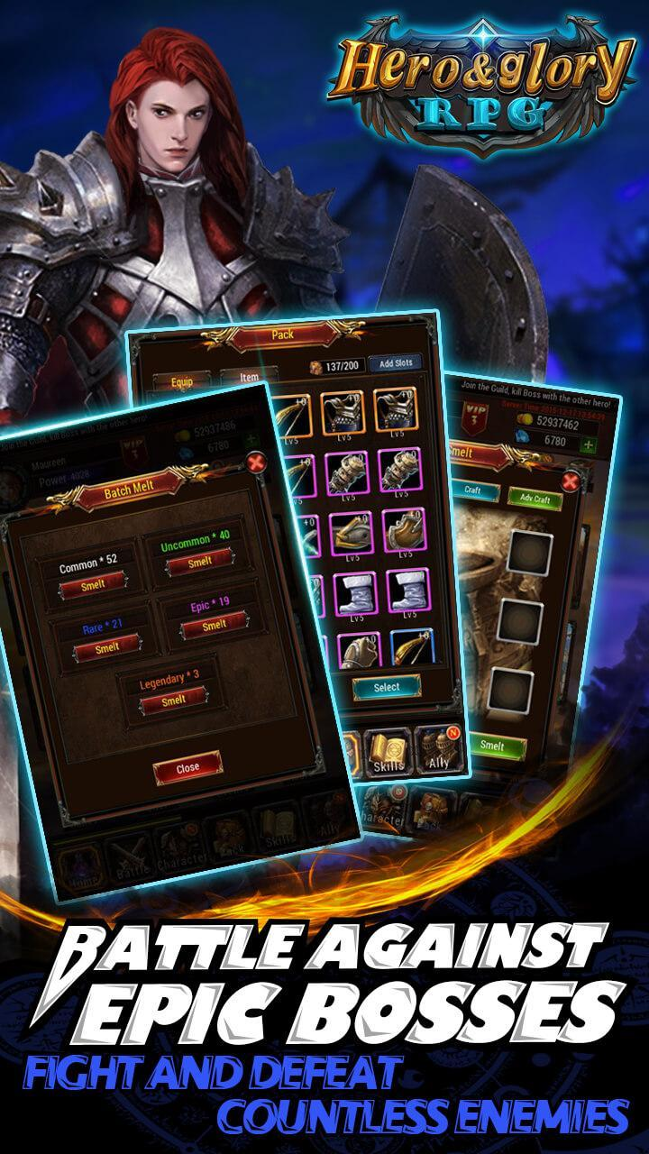 Hero & Glory - Auto Battle RPG for Android - APK Download