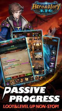 Hero & Glory - Auto Battle RPG apk screenshot