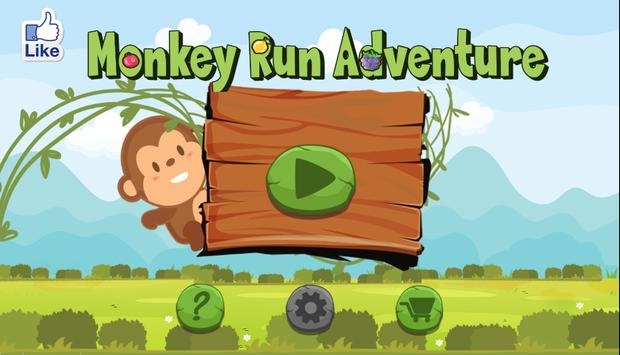 Monkey Run Adventure poster