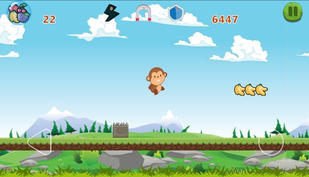 Monkey Run Adventure screenshot 1