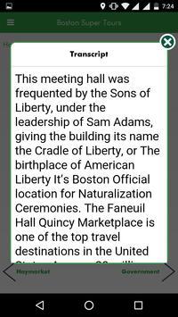 Boston Walking Tours apk screenshot