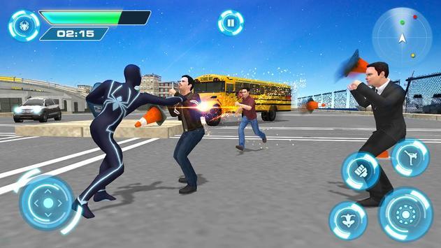4 Schermata Spider combattendo la battaglia contro il crimine