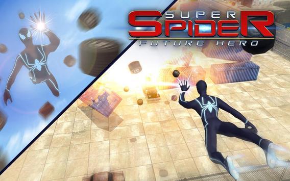 5 Schermata Spider combattendo la battaglia contro il crimine