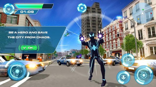 2 Schermata Spider combattendo la battaglia contro il crimine