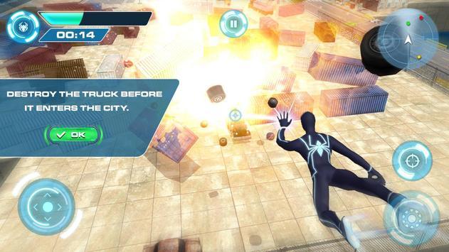 3 Schermata Spider combattendo la battaglia contro il crimine