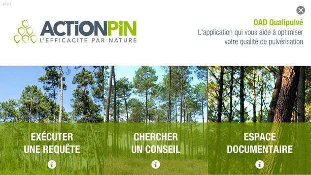 OAD Qualipulvé ACTION PIN poster