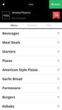 Venezia Pizzeria TS18 apk screenshot