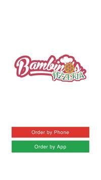 Bambinos Pizzeria WF16 poster