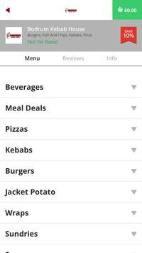 Bodrum Kebab House NE64 apk screenshot