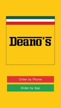 Deano's Pizza TS23 poster