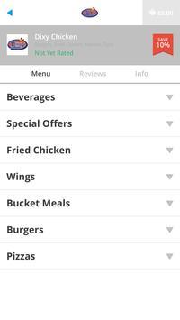 Dixy Chicken apk screenshot