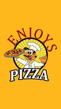 Enjoys Pizza NG17 poster