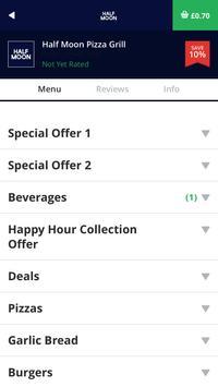 Half Moon Pizza Grill NE10 apk screenshot