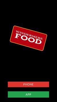 Windermere Food poster