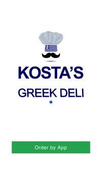 Kostas Greek Deli S1 poster