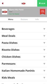 Mama Mia Pasta NE8 screenshot 2