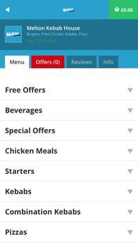 Melton Kebab House LE13 apk screenshot