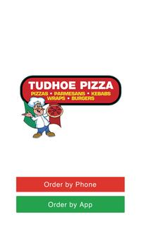Pizza Tudhoe DL16 poster