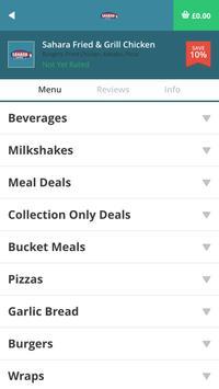 Sahara Fried & Grill Chicken apk screenshot