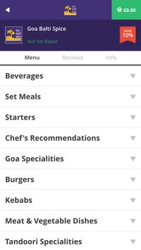 Goa Balti Spice BL6 apk screenshot