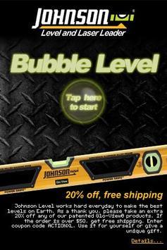 Johnson Bubble Level screenshot 1