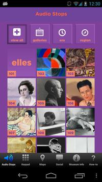 Elles at Seattle Art Museum poster