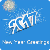 2017 New Year Greetings icon