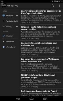 Actualités Playstation poster