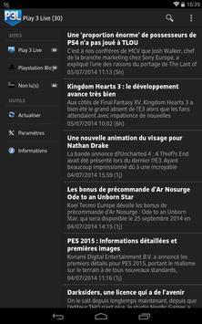 Actualités Playstation apk screenshot