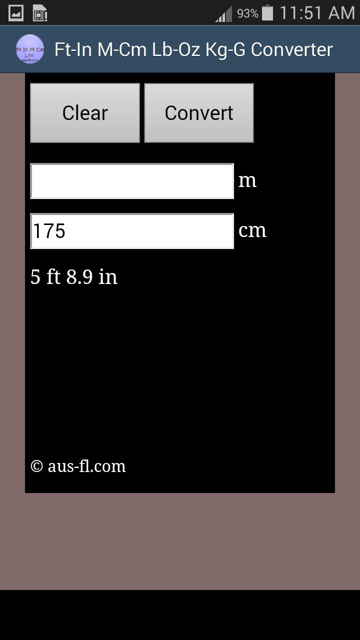Foot Inch Meter Centimeter for Android - APK Download