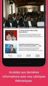 Madagasikara: News - Actualité screenshot 1