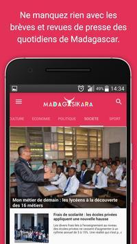 Madagasikara: News - Actualité screenshot 2