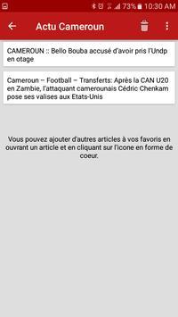 Actu Cameroun  – Latest News apk screenshot