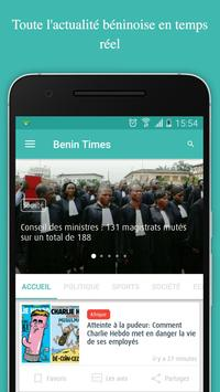 Benin times (News, actus ....) poster