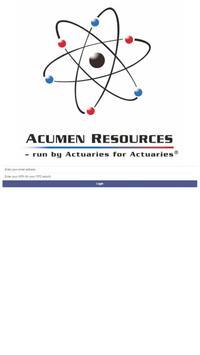 Acumen Resources poster