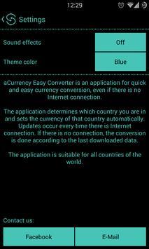 aCurrency Easy Converter apk screenshot