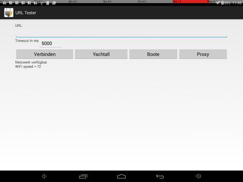 URL-Tester screenshot 1