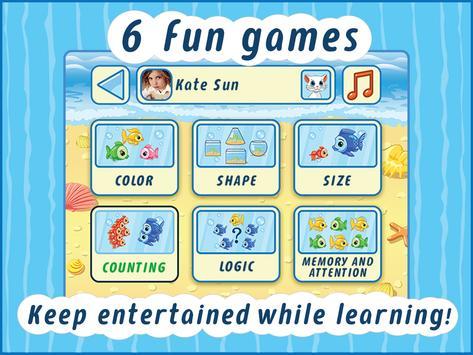 Smart Kitty - educational game apk screenshot