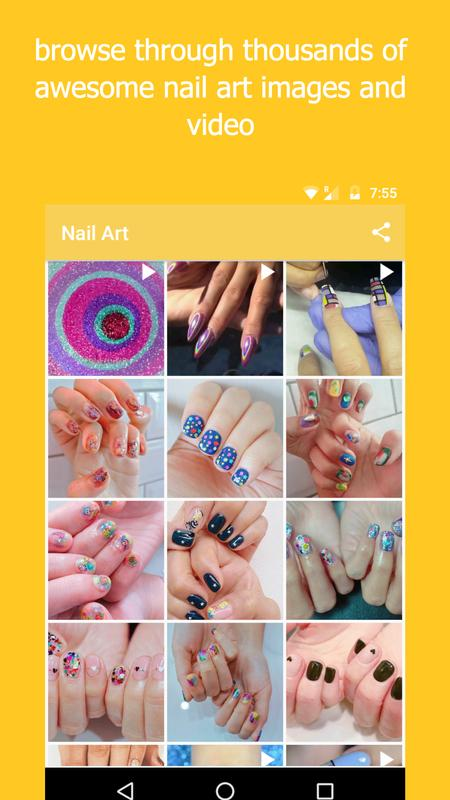 Nail Art Design Free Images And Videos For Android Apk Download