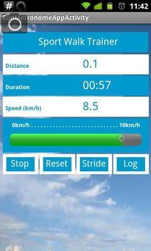 Sport Walk Trainer apk screenshot