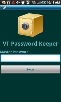 Lite-VT Password Keeper apk screenshot