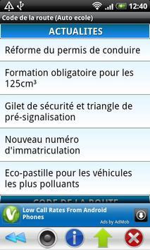 Code de la route (Auto ecole) screenshot 7