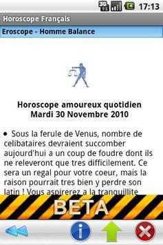 Horoscope Français apk screenshot