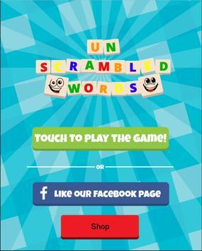 Unscrambled Words apk screenshot