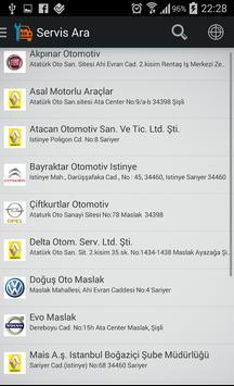 Araba Servisi apk screenshot