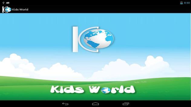 Kids World - Free poster