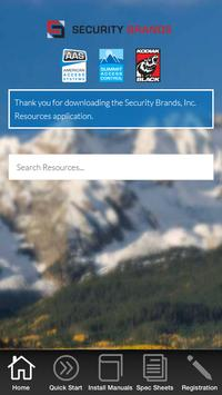 Security Brands Resources poster